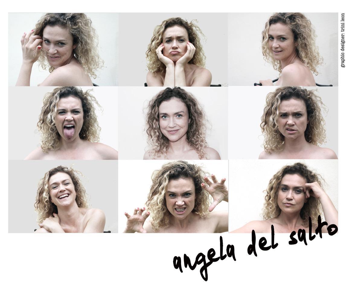 Angela Del Salto Actríz